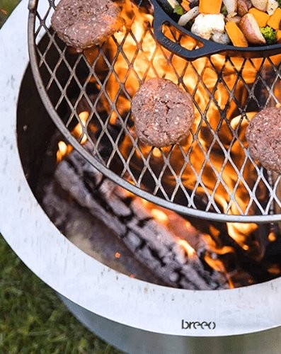 Cook smokeless fire pit